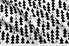 Teepee Southwest Tipi Black And White Fabric Printed By Spoonflower BTY
