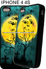 New Halloween Watercolor Look Bats Phone Case Cover Fits iPhone 4s 5 5s 6 6 Plus