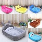 Cartoon Pet Dog Cat Bed Mat Durable Kennel Doggy Puppy Cushion Basket Stack Tops