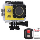SJ9000 4K Ultra HD 1080P WiFi 2.0'' Action Sports Camera DV w/Remote Waterproof