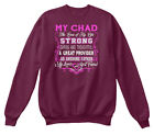 My Chad The Love Of Life. Customize Name Bellow Hanes Unisex Crewneck Sweatshirt