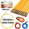More images of Fiberglass Cable Access Kit Long Reach Pulling Rod Wires Hook Ring Tool Box