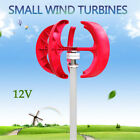 NEW 12V/24V 400W VAWT Lanterns Wind Turbine Generator Vertical Axis + Controller