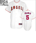 Majestic Big & Tall Los Angeles Angels #5 Baseball Jersey New Mens Sizes