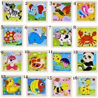 Baby Kids Animal/Traffic Puzzles 3D Jigsaw Puzzle Board Wooden Educational Toy