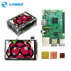 Raspberry Pi 3 Model B Starter, Complete Kits With 3.5 inch Display  Heat Sinks