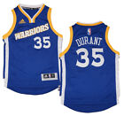 Youth Kevin Durant Golden State Warriors NBA Adidas Crossover Swingman Jersey