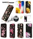Внешний вид - For iPhone XS Max XR X 7 8 Flower Bling Hybrid Armor Rubber Protector Case Cover