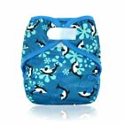 Baby Cloth Diaper Cover Bamboo Insert Waterproof Breathable Adjustable Nappies