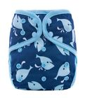 One Size Adjustable Baby Cloth Diaper Breathable Reusable PUL For Baby Nappies