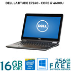Dell Latitude E7240 Core i7 4600U 8/16G 256GB SSD HDMI WiFi 12.5