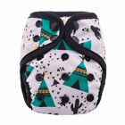 Double Gussets Pocket Cloth Diaper Breathable Bamboo Charcoal Inner Baby Nappies