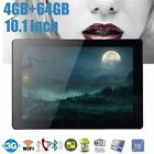 10.1'' Android 7.0 Tablet PC 4GB+64GB Octa 8 Core HD WIFI Bluetooth Dual SIM AD