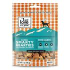 Dog Treats Hearties w/ Chicken Grain Artificial Preservatives Flavors Or Colors