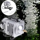 Aquarium Oxygen Pump Electromagnetic Air Compressor Fish Tank Supply Pond Pool