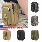 Tactical Military Mens Thigh Drop Leg Bag Fanny Pack Waist Belt Pouch D