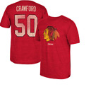 NHL CCM Vintage Chicago Blackhawks #50 Hockey Shirt New Mens Sizes $35 $12.0 USD on eBay