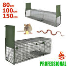 3 Size Large Rat Catcher Snake Cage Bait Trap Humane Live Animal Rodent Sturdy