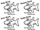 Внешний вид - Choice-Baby Shark Iron On Transfer For T-Shirt & Other Light Color Fabics #1-8