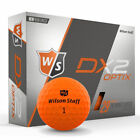 Wilson Staff 2018 DX2 Soft Golf Balls Multi-Buy Discounts NEW BOXED ORANGE