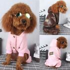 Puppy Dog Winter Apparel Warm Hoodie Coat Jacket Hooded Clothing Pet Clothes