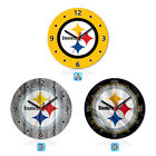 Pittsburgh Steelers Football Wall Clock Home Office Room Decor Gift