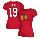 NHL Reebok Chicago Blackhawks #19 Hockey Shirt New Womens Sizes $11.2 USD on eBay