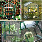 2-5 Tier Shelves Mini Greenhouse Outdoor Indoor Clear PVC Cover Zipper Roll Up
