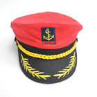 Adults Outdoor Cotton Sailor Ship Boat Captain Hat Navy Marins Admiral Cap O6