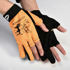 Fishing Gloves Three Fingers Waterproof Non-Slip Abrasion Protection UV gloves