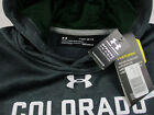 Colorado State Rams Under Armour Storm Sideline Fleece Hoodie Youth M, L, XL NWT