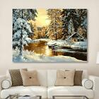 40 50cm DIY Digital Oil Painting Paint By Number Kit Landscape Wall Home Decor