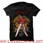 QUEEN FREDDIE MERCURY ROCK CLASSIC  T SHIRT MEN'S SIZES image
