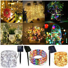 Kyпить 50-200 LED Solar Power Fairy Lights String Lamps Party Xmas Deco Garden Outdoor на еВаy.соm