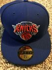 New York Knicks 59Fifty NewEra Fitted Baseball Cap Hat NBA on eBay