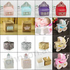 Внешний вид - 10Pcs Gift Box Paper Candy Boxes Baby Shower Favor Gift Wedding Party Decor 14#