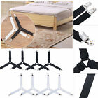 Внешний вид - 4Pcs Triangle Bed Sheet Mattress Holder Fastener Grippers Clips Suspender Straps