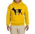 Pittsburgh Penguins Mario Lemieux Goat Hooded sweatshirt $28.99 USD on eBay