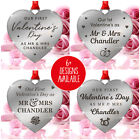 First Valentines Married Couple PERSONALISED Gifts Him Her Mr Mrs Husband Wife