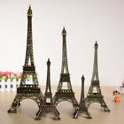 New Retro Metal Statue Figurine Paris Eiffel Tower Office Ornament Home Decor