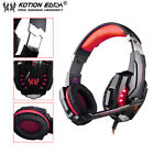 EACH G9000 3.5mm Gaming Headphone Microphone USB Headset LED Light For PS4 LMW