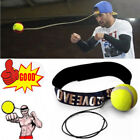 MMA Boxing Fight Ball With Head Band For Reflex Speed Training Punching Sport AT