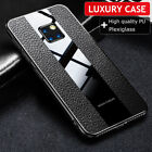Magnetic Ring Stand Case For Huawei P20 P30 Mate 20 Pro Leather Plexiglass Cover