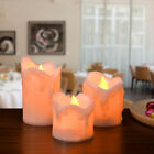 Внешний вид - 3 PCS Flameless Premium Votive Candles Battery Operated Flickering LED Lights