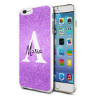 Personalised Marble Phone Case Cover for Apple Samsung Initial Text Name - E26