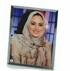 """5 ea.  Sublimation Glass Photo Picture Frame 3/8"""" and 3/16"""". Beveled Edges BLANK"""