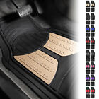 2 Tone Design All Weather Floor Mats w/ Free Air Freshener 8 Color Options
