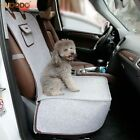 2 In 1 Felt Cloth Pet Dog Car Seat Cover Soft Durable Anti-slip Pet Dog Carrier