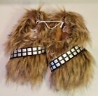 Star Wars Chewbacca Slippers Wookie Fur Feet Kids $17.99 USD on eBay