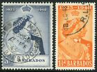1948 ROYAL SILVER WEDDING issues FINE USED..British Commonwealth